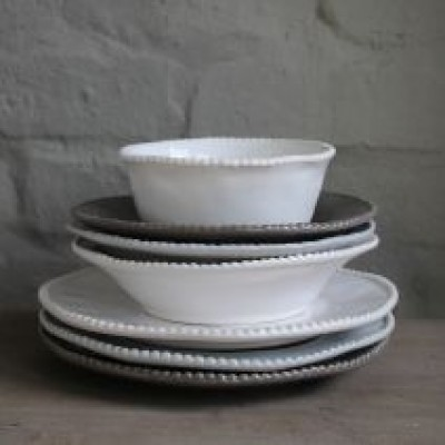 White Rose Maria Cereal Bowl