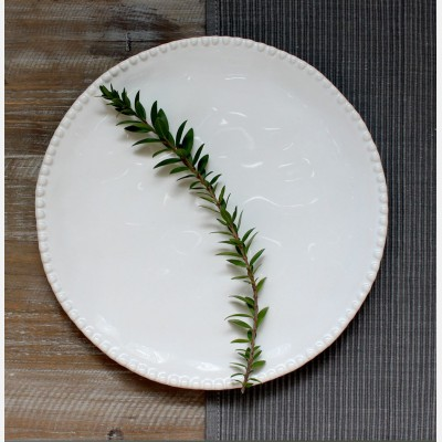 White Rose Maria Side Plate