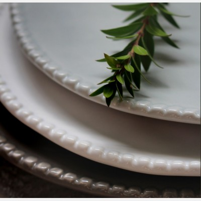 Dove Grey Rose Maria Side Plate