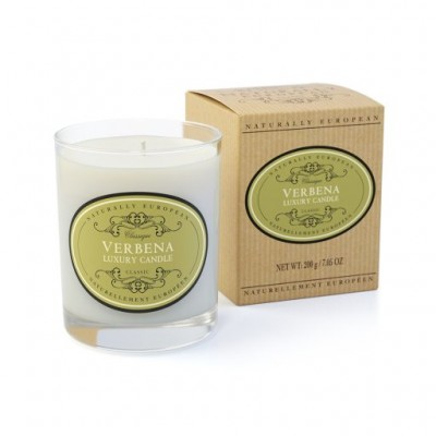 Naturally European Scented Candle verbena