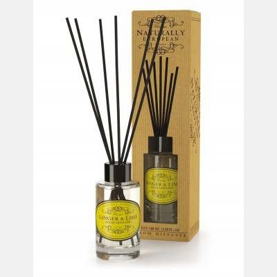 Naturally European Room Diffuser ginger & lime