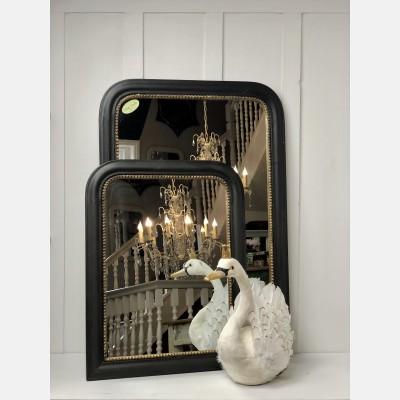 Vintage style black mirror