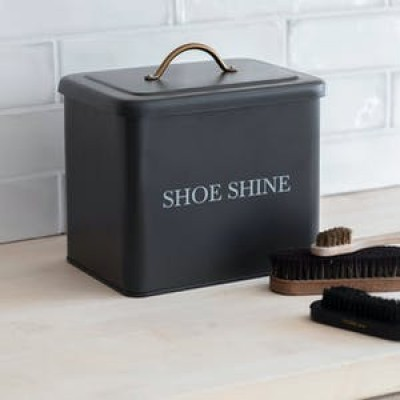 Shoe shine box in carbon