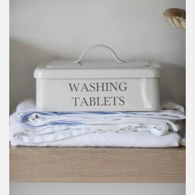 Washing tablet box