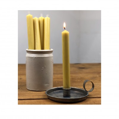 Dinner Candle Burnt gold