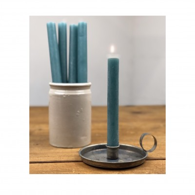 Dinner Candle Blue