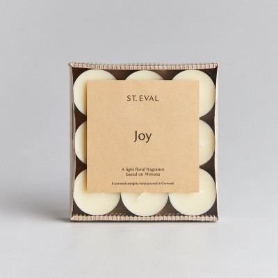 St Eval Tealights Joy